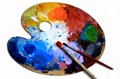Picture of an art palette