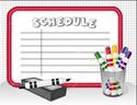 Coure Schedule