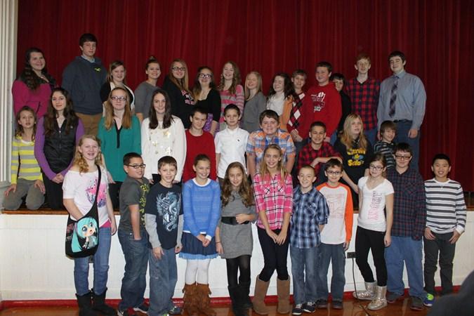 Our Fabulous Falcons - January 2014
