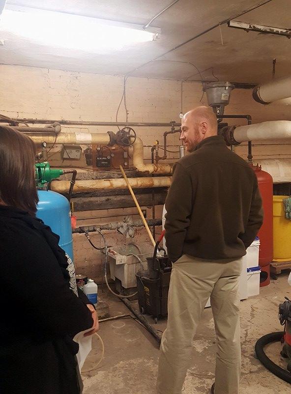 SAMS Boiler Room