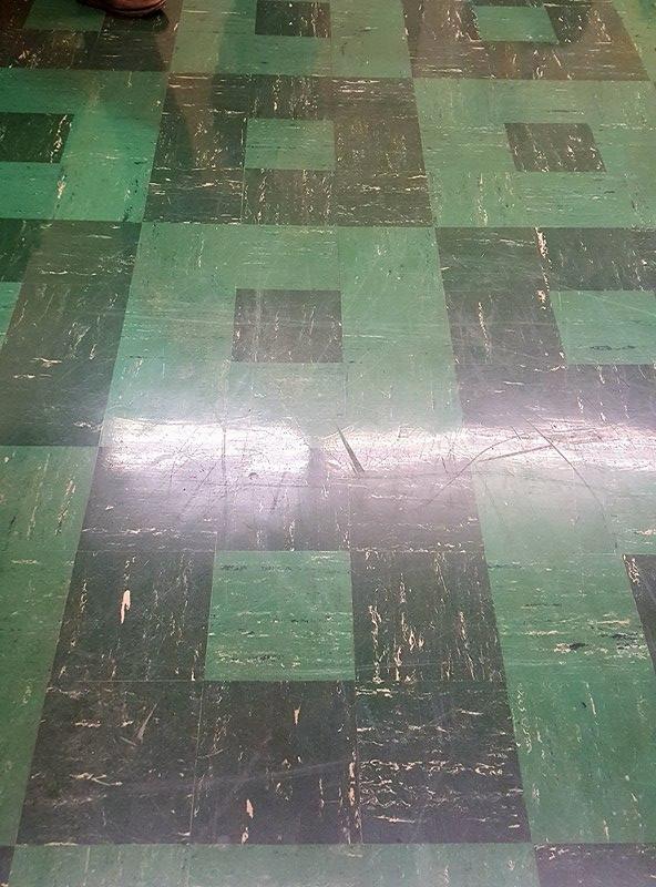 SAMS asbestos floor tiles