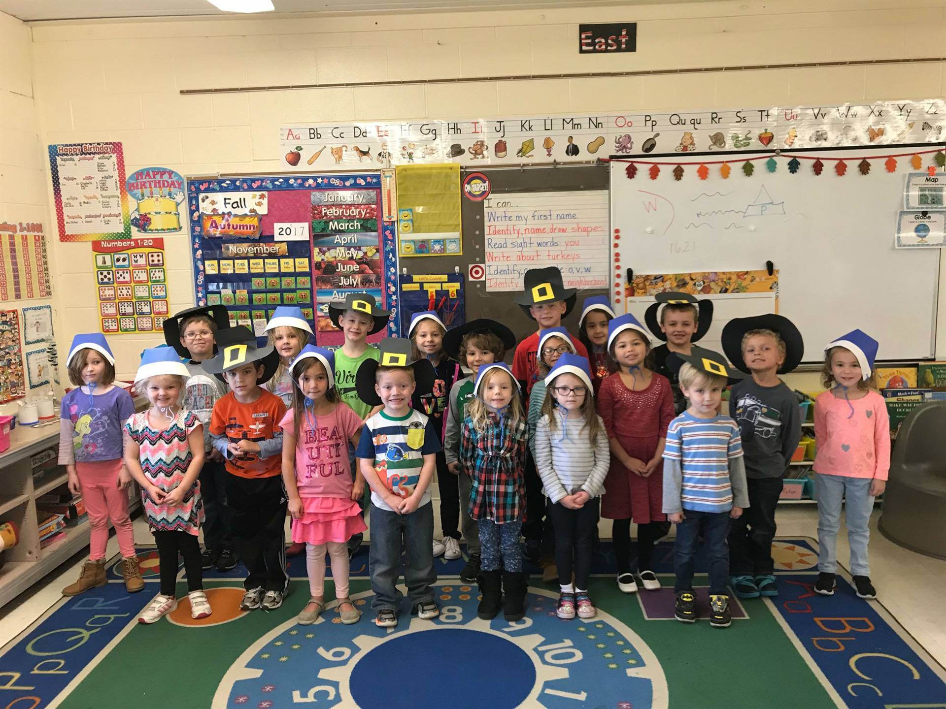 FES students ready for Thanksgiving